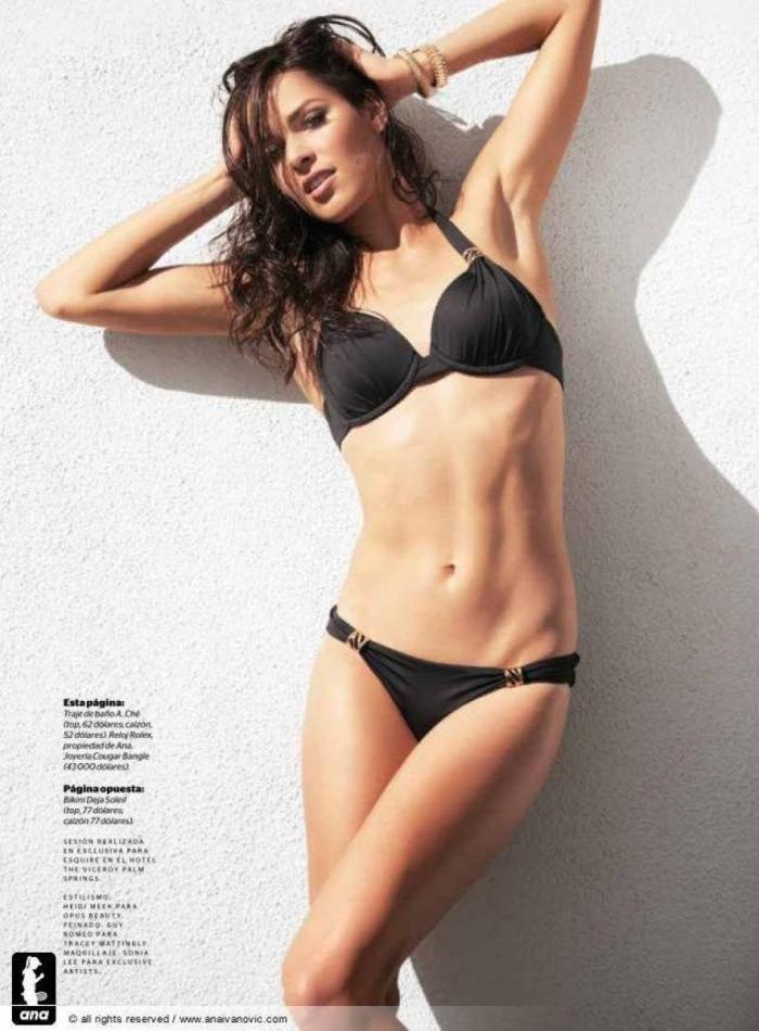 Ana Ivanovic est une tenniswoman vraiment sexy en lingerie