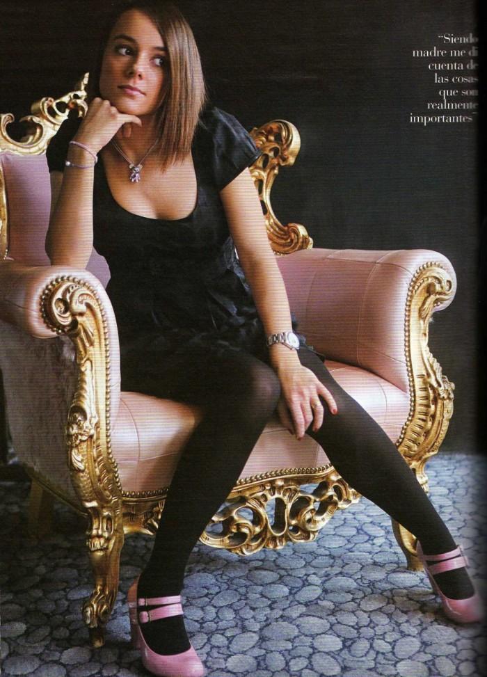 Alizée est sublime en lingerie