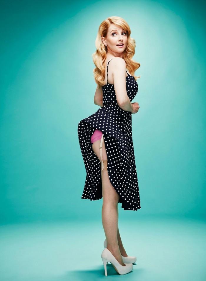 Melissa Rauch vue dans The Big Bang Theory est top en lingerie