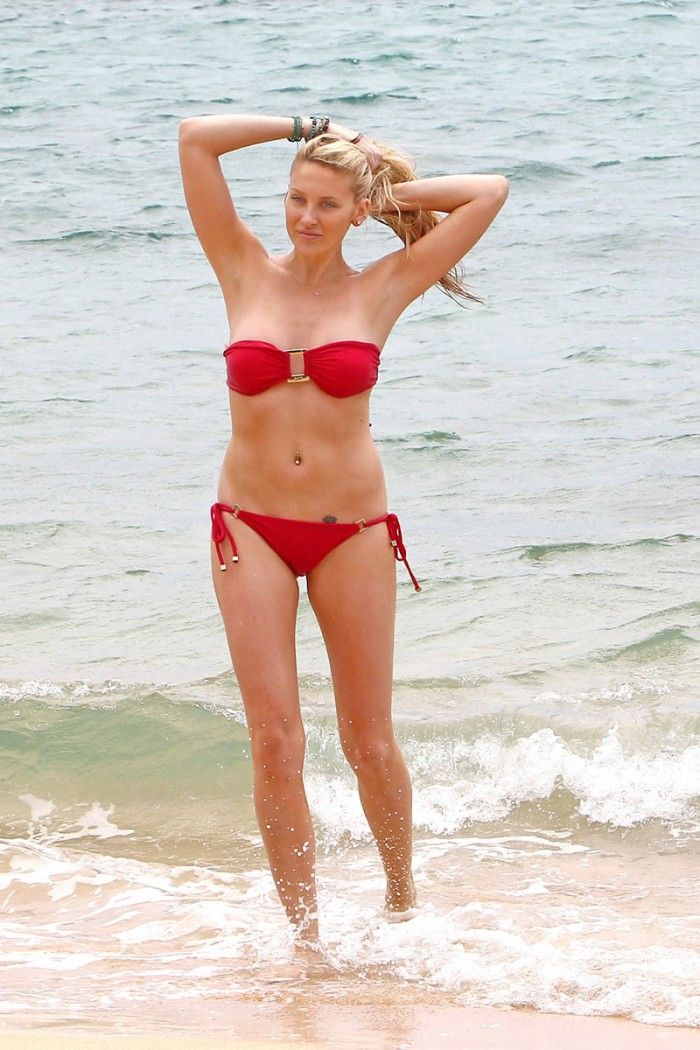 Stephanie Pratt nous dévoile son corps splendide en bikini