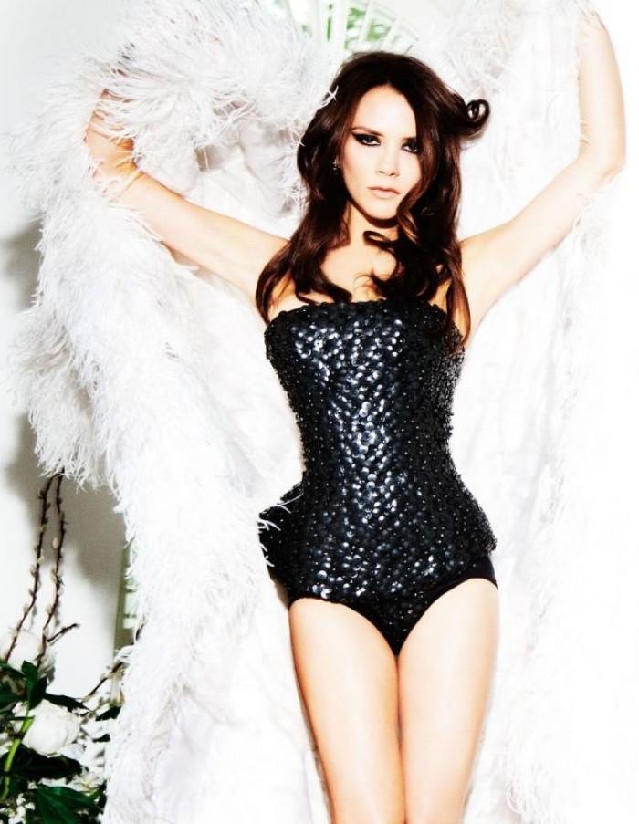 La sexy Victoria Beckham nous charme toujours autant