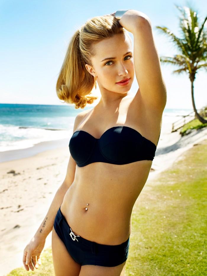 Hayden Pannettière la belle blonde de la série Heroes