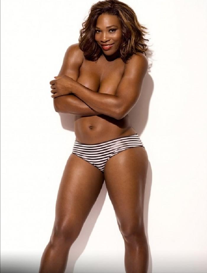 La belle Serena Williams aux formes sexy