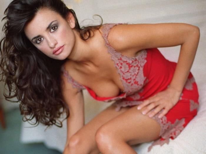 Penélope Cruz est une sublime créature en lingerie