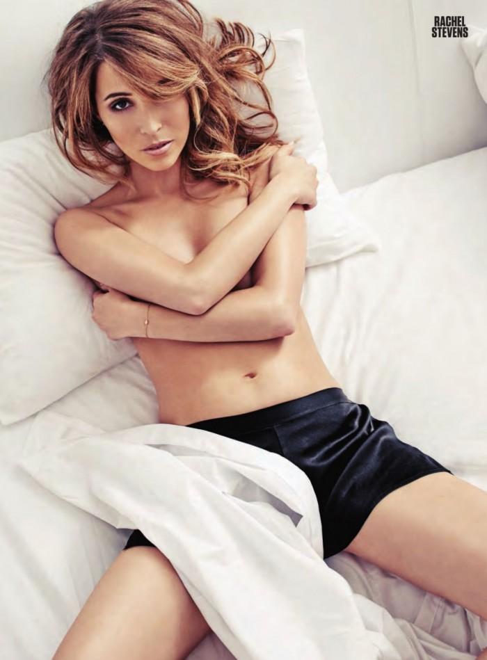 La splendide Rachel Stevens torride en lingerie