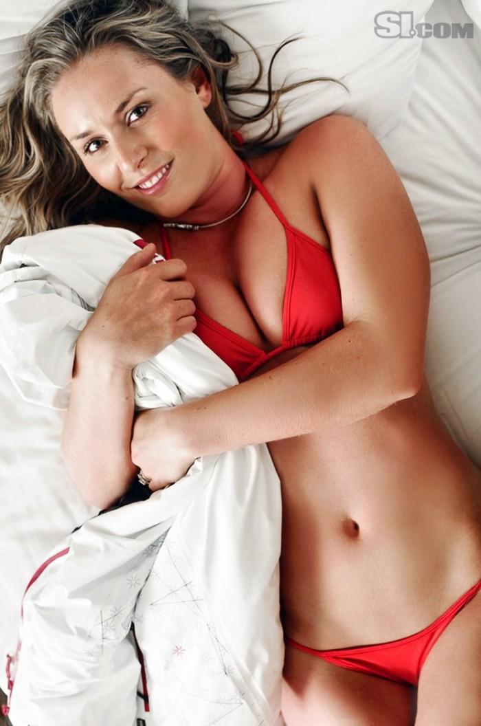 La sexy Lindsey Vonn encore plus sexy en maillot que sur les skis