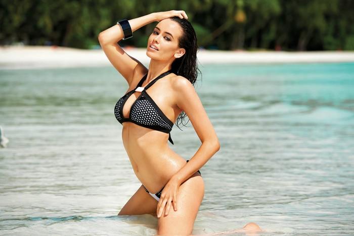La Top model et actrice Sarah Stephens