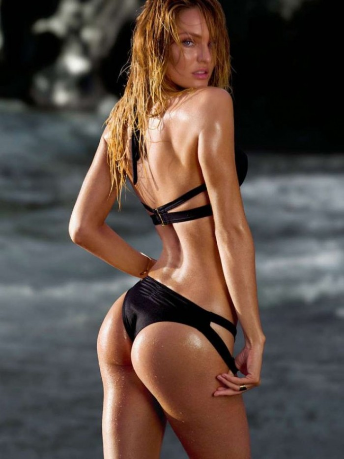 Candice Swanepoel en bikini sexy