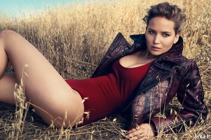 La belle Jennifer Lawrence l'héroïne d'Hunger Games