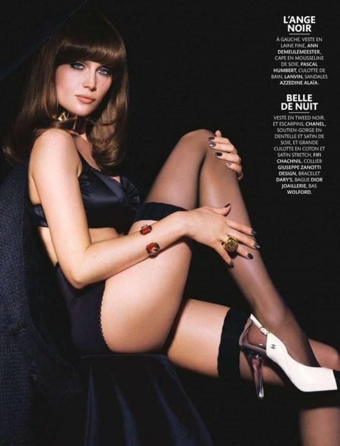 La belle Laetitia Casta superbe en lingerie
